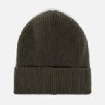 Мужская шапка Universal Works Beanie Lamgora Wool Olive фото- 2