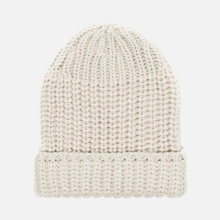 Universal Works Beanie Merino Rib Men's hat Stone