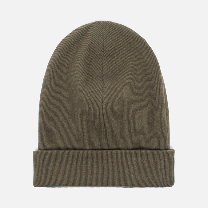 Мужская шапка Universal Works Beanie Rib Cotton Military Olive