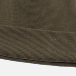 Мужская шапка Universal Works Beanie Rib Cotton Military Olive фото- 1