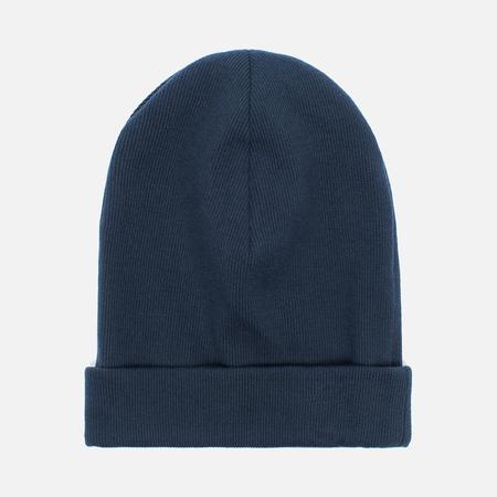 Мужская шапка Universal Works Beanie Rib Cotton Navy