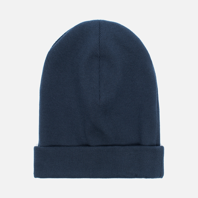 Мужская шапка Universal Works Beanie Rib Cotton Navy