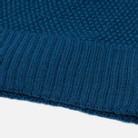 Мужская шапка Universal Works Bobble Moss Stitch Blue фото- 1