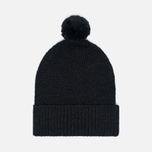 Universal Works Bobble Moss Stitch Men's Hat Charcoal photo- 0