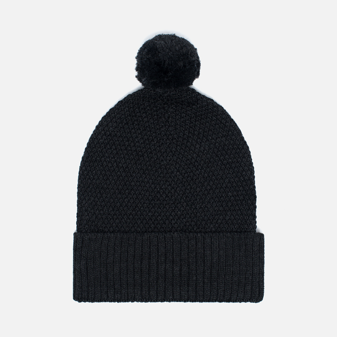 Universal Works Bobble Moss Stitch Men's Hat Charcoal