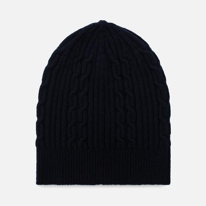 Мужская шапка Universal Works Cable Watch Soft Wool Navy