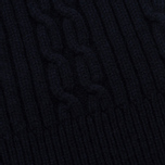 Мужская шапка Universal Works Cable Watch Soft Wool Navy фото- 1