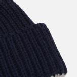 Шапка Universal Works Short Watch British Wool/Alpaca Navy фото- 1