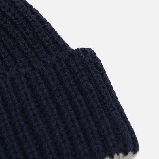 Шапка Universal Works Short Watch British Wool/Alpaca Navy
