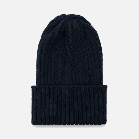 Мужская шапка Universal Works Watch Cotton Knit Navy