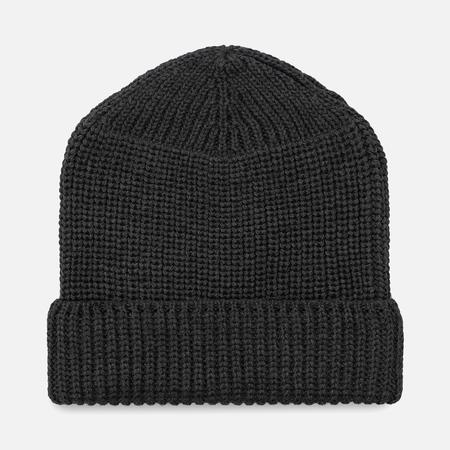 Мужская шапка Universal Works Watch Merino Rib Charcoal