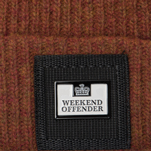 Шапка Weekend Offender Stallone AW18 Rust фото- 1