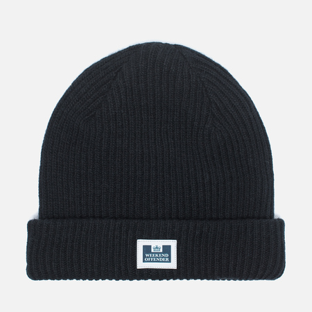 Weekend Offender Wolf Men's Hat Black