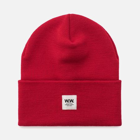 Мужская шапка Wood Wood Gerard Tall Beanie Red