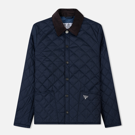 Мужская стеганая куртка Barbour Beacon Starling Navy
