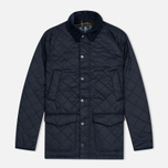Мужская стеганая куртка Barbour Canterbury Quilted Navy фото- 0