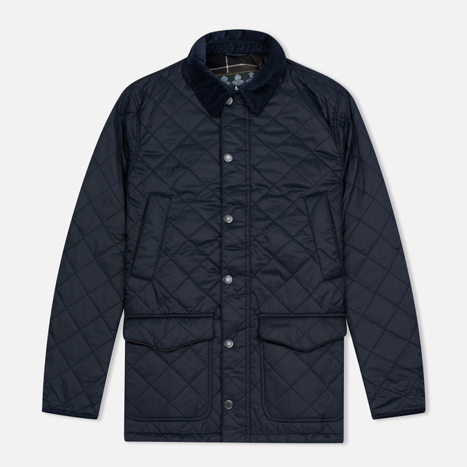 Мужская стеганая куртка Barbour Canterbury Quilted Navy
