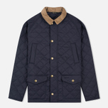 Мужская стеганая куртка Barbour Canterdale Navy фото- 0