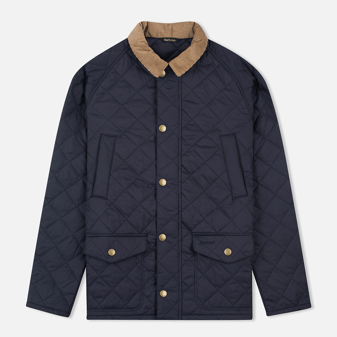 Мужская стеганая куртка Barbour Canterdale Navy