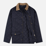 Мужская стеганая куртка Barbour Canterdale Navy фото- 1