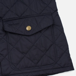 Мужская стеганая куртка Barbour Canterdale Navy фото- 4