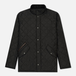 Мужская стеганая куртка Barbour Chelsea Sportsquilt Black фото- 0