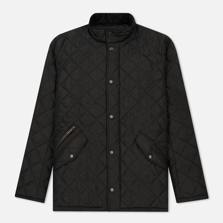 Мужская стеганая куртка Barbour Chelsea Sportsquilt Black
