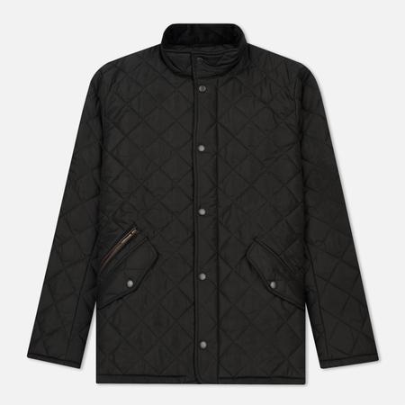 Мужская стеганая куртка Barbour Chelsea Sportsquilt Black