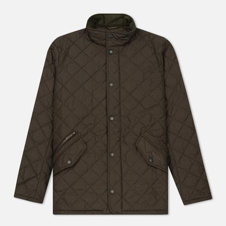 Мужская стеганая куртка Barbour Chelsea Sportsquilt Olive
