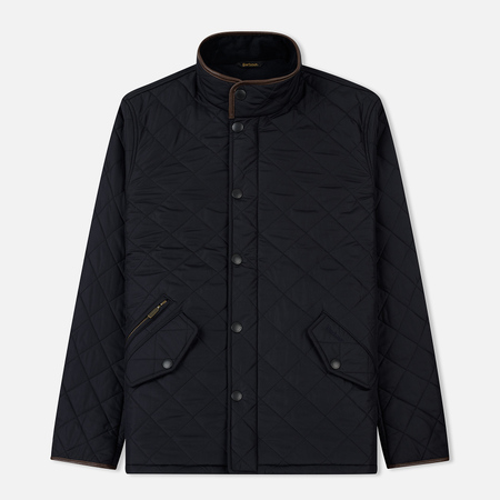 Мужская стеганая куртка Barbour Powell Navy