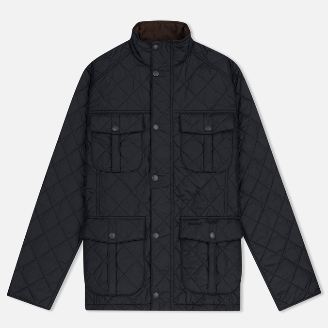Мужская стеганая куртка Barbour Shorelark Quilted Black