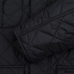 Мужская стеганая куртка Barbour Shorelark Quilted Black фото- 3