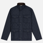 Мужская стеганая куртка Barbour Shorelark Quilted Navy фото- 0