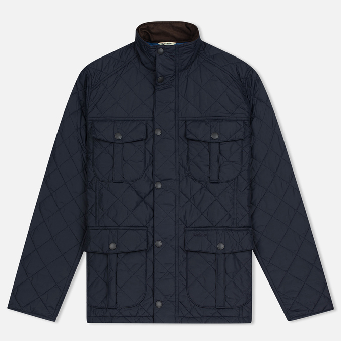 Мужская стеганая куртка Barbour Shorelark Quilted Navy