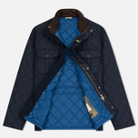 Мужская стеганая куртка Barbour Shorelark Quilted Navy фото- 2