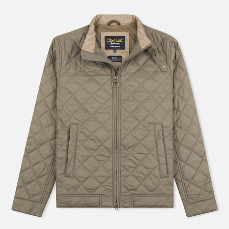 Barbour x Land Rover Exhibition Dusty Men's Quilted Jacket Olive