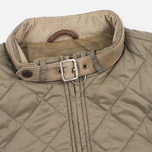 Barbour x Land Rover Exhibition Dusty Men's Quilted Jacket Olive photo- 3