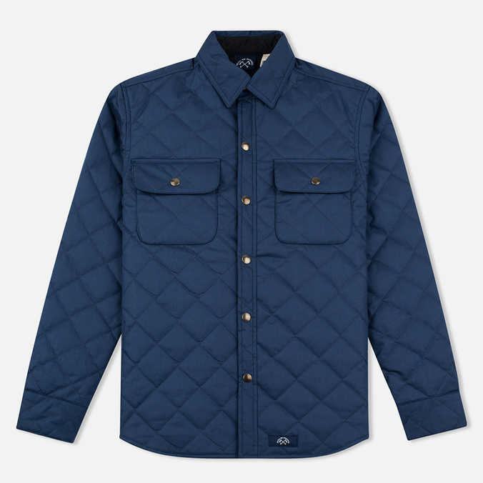 Мужская стеганая куртка Bleu De Paname Quilted Tankiste Marine