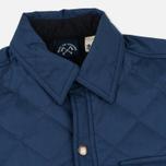Мужская стеганая куртка Bleu De Paname Quilted Tankiste Marine фото- 2