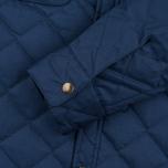 Мужская стеганая куртка Bleu De Paname Quilted Tankiste Marine фото- 3