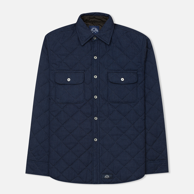 Мужская стеганая куртка Bleu De Paname Tankist Indigo