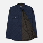 Мужская стеганая куртка Bleu De Paname Tankist Indigo фото- 1