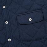 Мужская стеганая куртка Bleu De Paname Tankist Indigo фото- 3