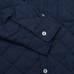 Мужская стеганая куртка Bleu De Paname Tankist Indigo фото- 5