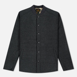 Мужская теплая рубашка Barbour Ruthwell Overshirt Grey Marl Wool фото- 0