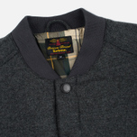 Barbour Ruthwell Overshirt Men's Warm Shirt Grey Marl Wool photo- 1