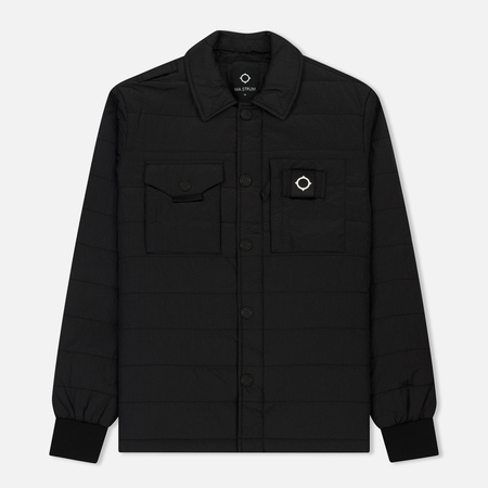 Мужская теплая рубашка MA.Strum Cusk Overshirt Jet Black