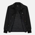 Мужская теплая рубашка MA.Strum Cusk Overshirt Jet Black фото- 2