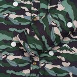 Мужская теплая рубашка Maison Kitsune Landscape John Padded Khaki фото- 3