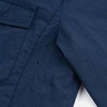 Мужская теплая рубашка Norse Projects Jens Ripstop Nylon Navy фото- 5